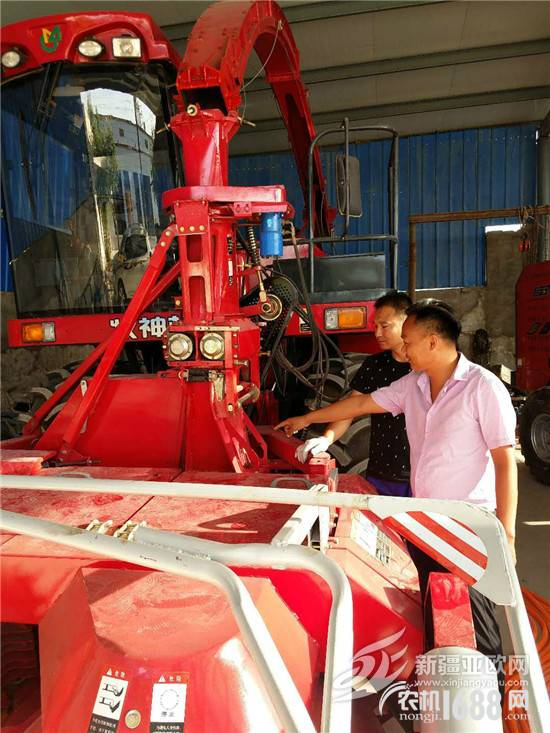 "From ""buy"" to ""sell"" Zhang Baoan's indissoluble bond with agricultural machinery"