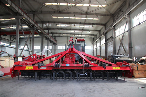 Xinjiang Mushen Power Rotary Harrow Does Not Lose the Quality of High-end Imported Brands