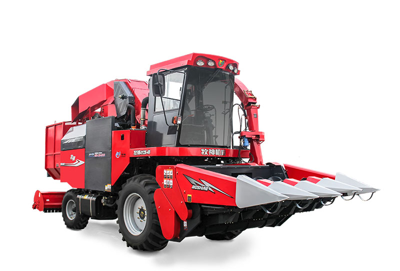 Mu Shen 4YZB-4B Self-propelled (Stem and Ear Harvesting) Corn Harvester