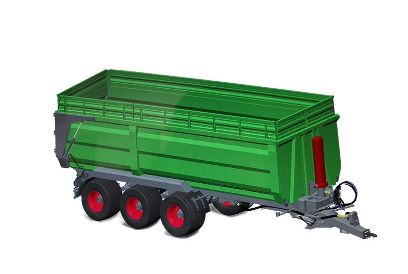 Mu Shen Three Bridges (Double Bridges) Full-hook Dump Trailer Series