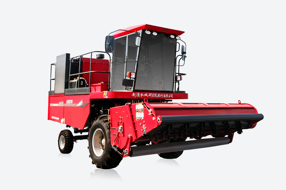 Mu Shen 4KZ-300 self-propelled straw harvesting and baler