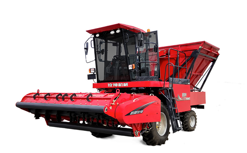 Mu Shen 4SZ-3000 self-propelled straw harvester