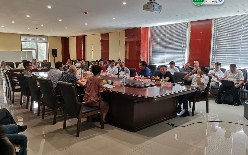 中國農機協會攜農機零部件企業來我公司參觀調研