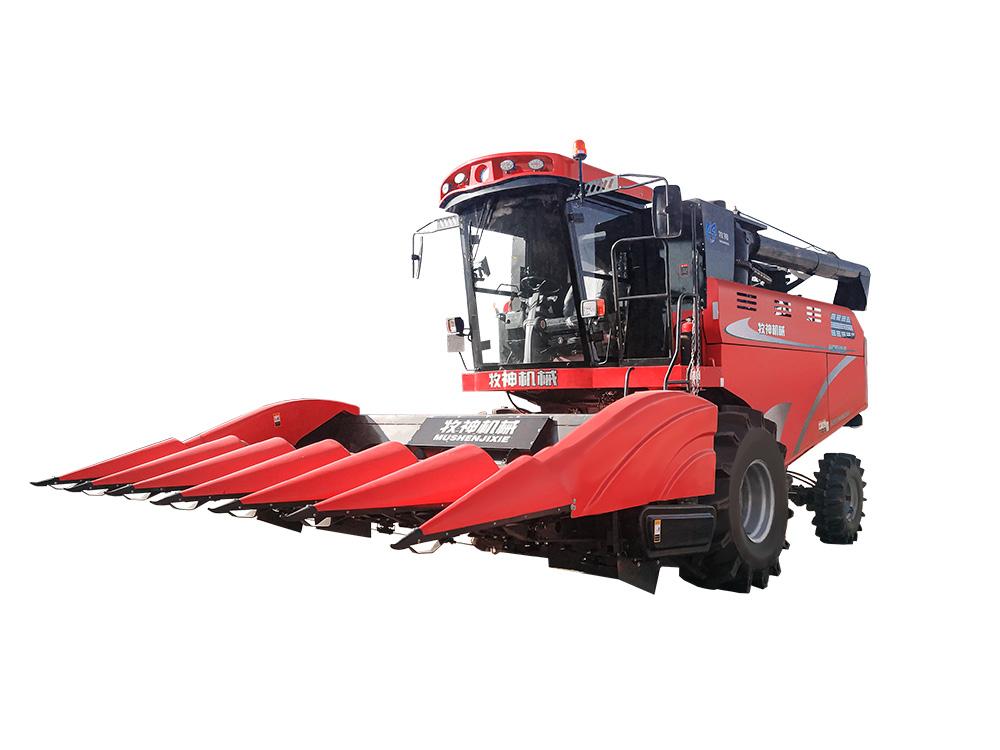牧神4YZT-6型自走式玉米籽粒收获机