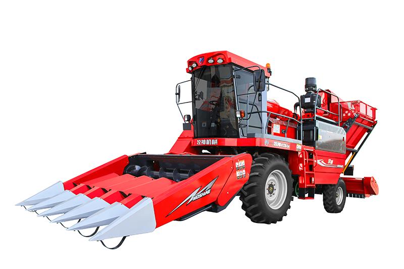 牧神4YZB-5/5A/5AS型自走式玉米收获机