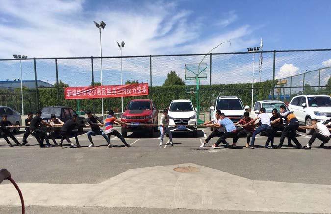 公司开展南疆富余劳动力肉孜节主题活动