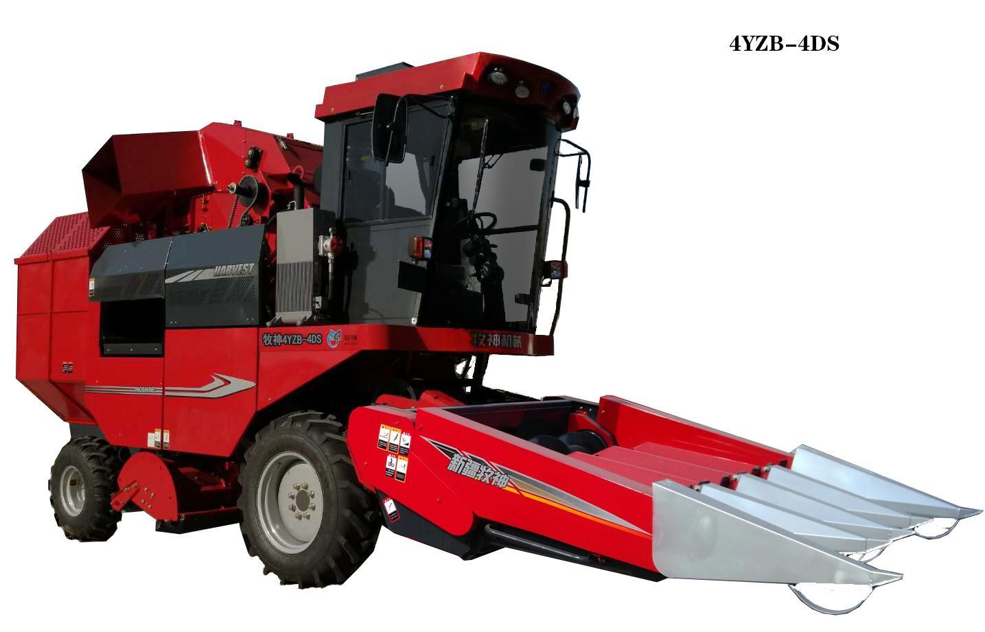 牧神4YZB-4D/4DS型自走式玉米收获机