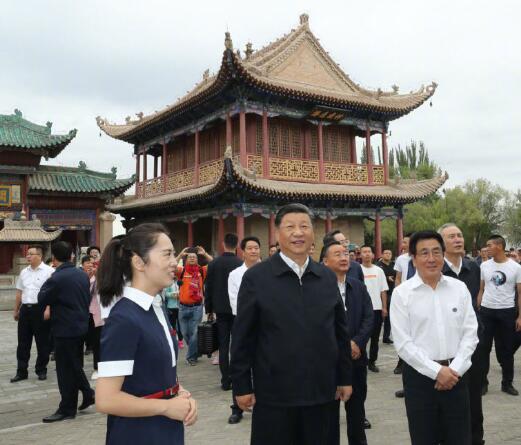 习近平:保护好中华民族的象征