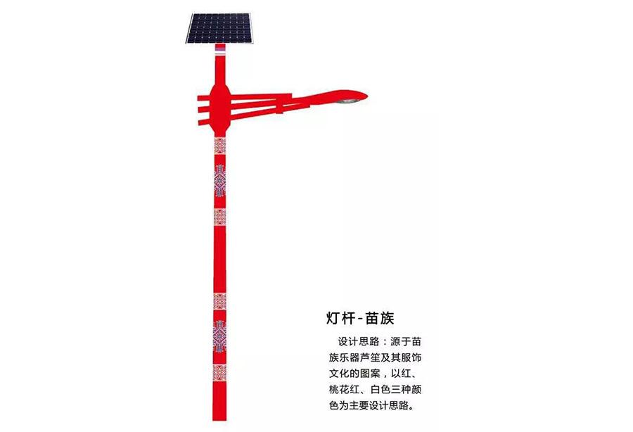甘肃太阳能路灯,兰州民族特色灯