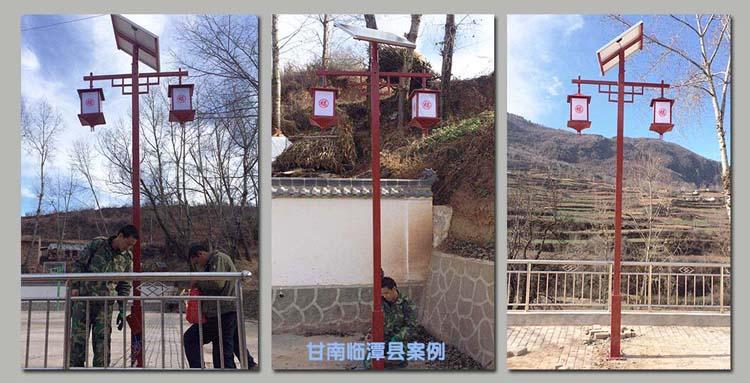 甘南临潭县城市景观照明工程案例