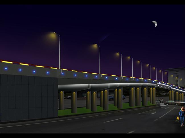 甘肃道路桥梁亮化