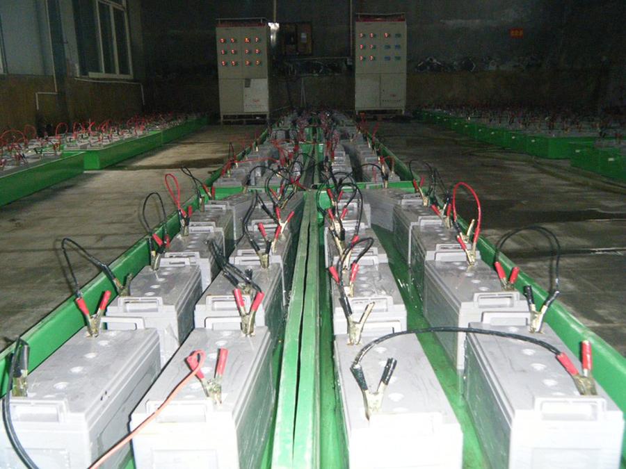 蓄电池-甘肃绿源照明工程