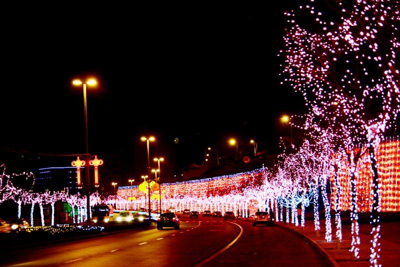 甘肃道路照明亮化