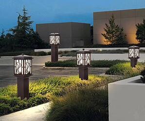 兰州新区公园城市亮化工程
