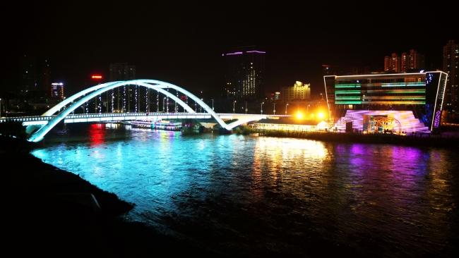 兰州河道亮化
