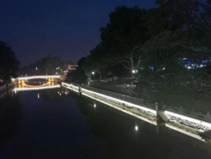 甘肃绿源节能照明-河道亮化工程
