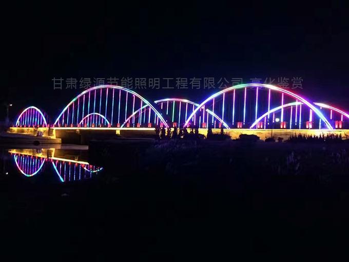 兰州桥梁亮化