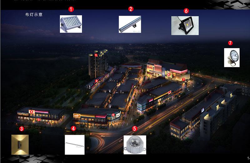 景观亮化工程要达到一个什么样的技术要求,其技术指标是什么?