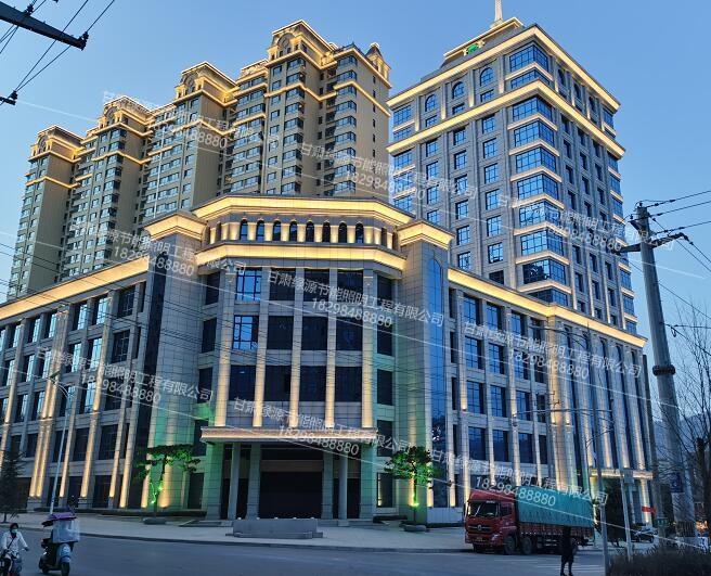 城市楼体亮化工程案例