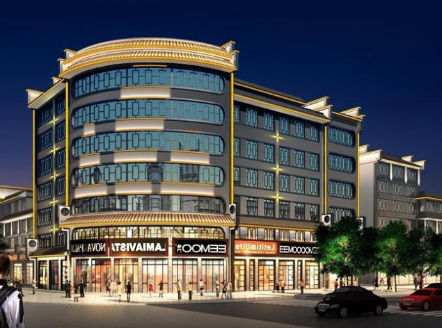 一个好的楼体亮化工程可以让建筑成为璀璨的标志