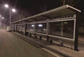 霍尔果斯市公交站台亚博体育app在线下载制作安装