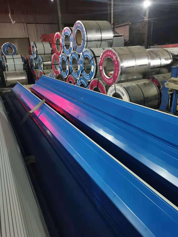 彩钢板型号 彩钢板屋面板价格 郑州彩瓦加工厂家