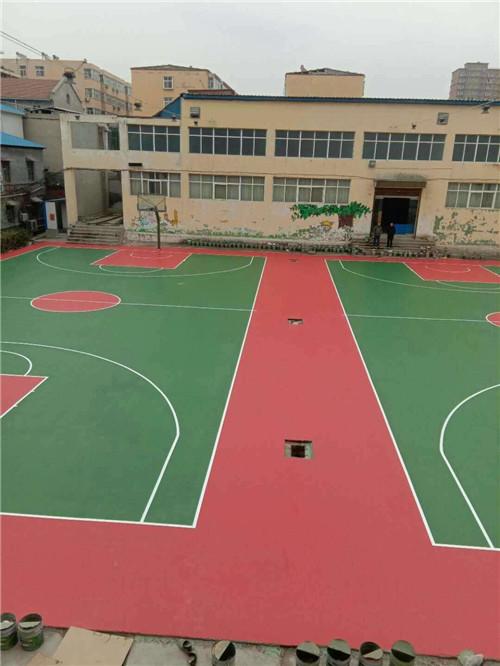 河南硅PU球场施工