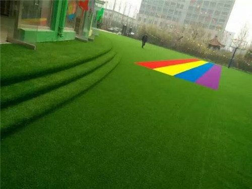河南人造草坪工程案例