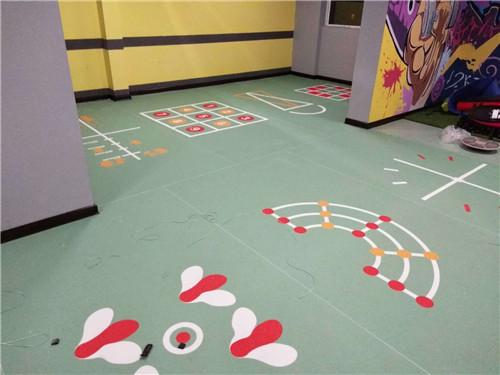 河南塑胶地板工程