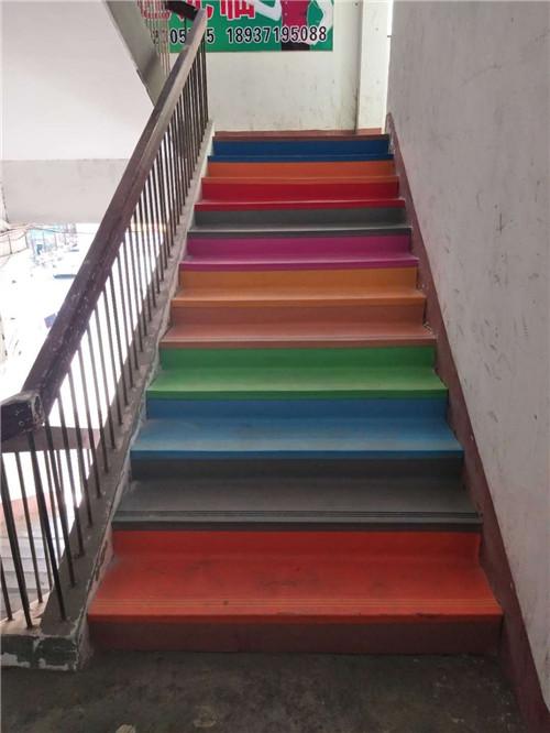 河南楼梯踏步客户案例
