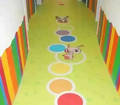 针对幼儿园在铺塑胶地板的时候有哪些优势呢