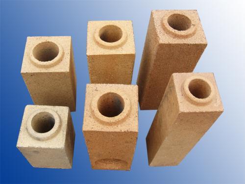 高铝直通、尾砖流钢砖