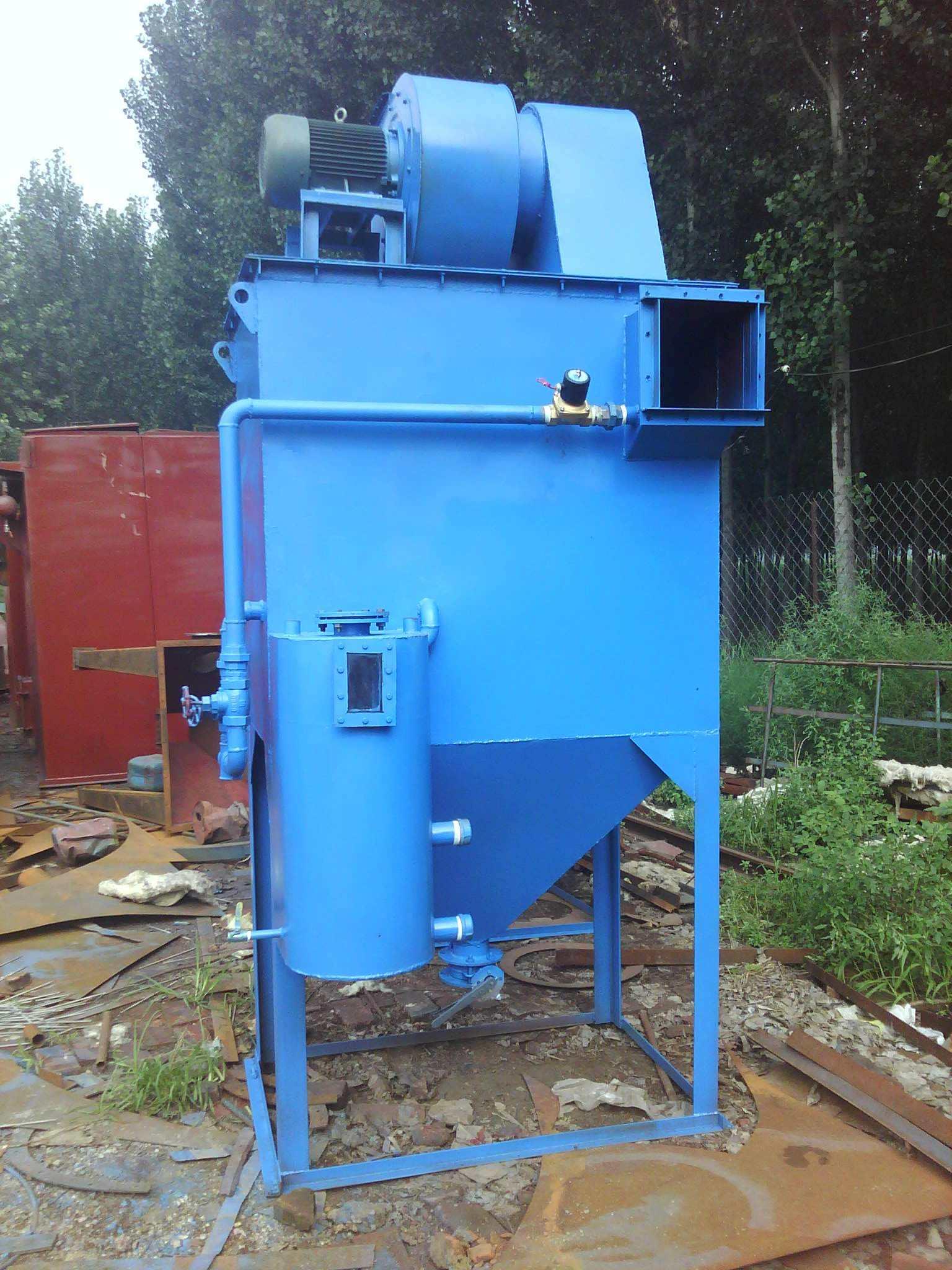 锅炉除尘流程