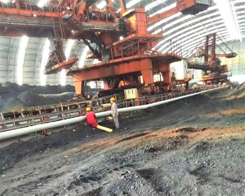 煤场管道保温施工案例长武大唐电厂