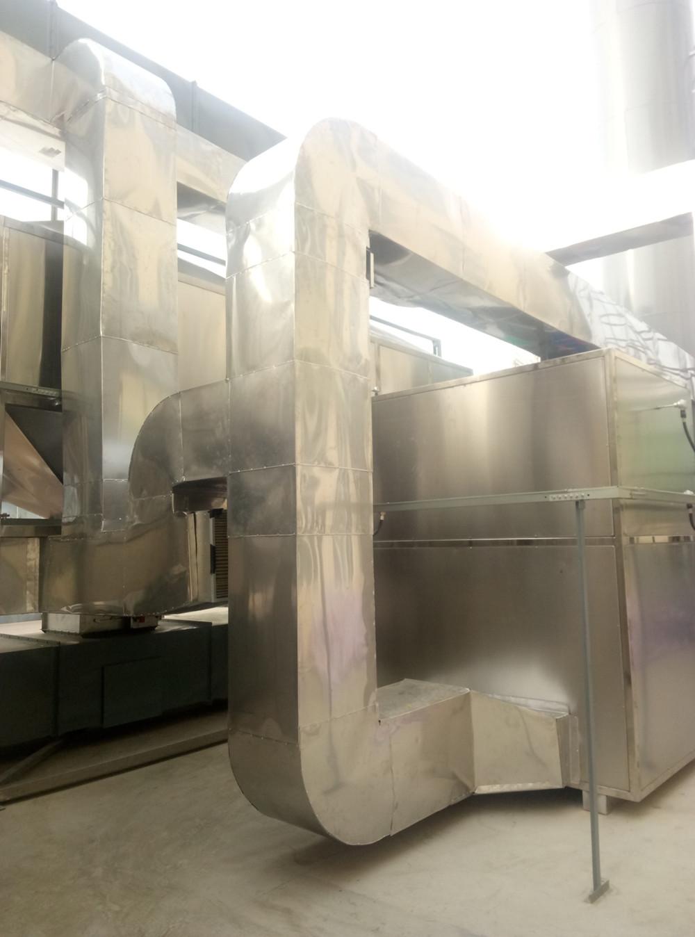 陕西兴泽保温科技有限公司与宝塔山油漆股份有限公司合作真实案例(保温施工现场)