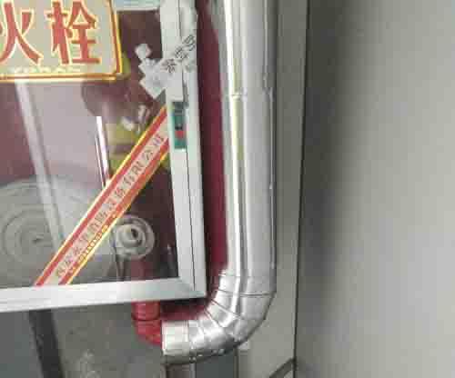 比亚迪消防管道保温项目