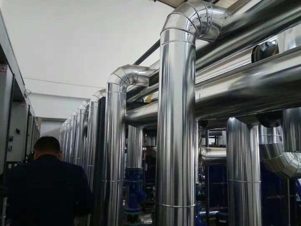 铁皮管道保温施工