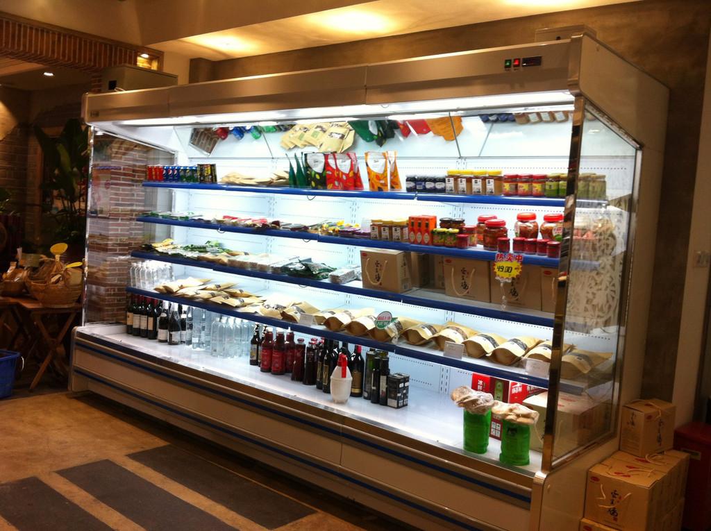 陕西立式展示柜告诉你冷冻果蔬为啥受欢迎