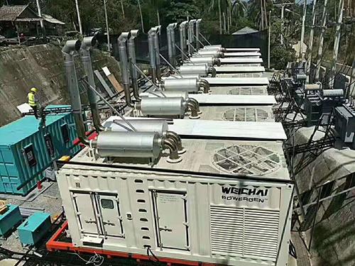 成都發電機租賃-集裝箱發電機組