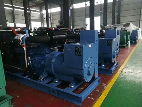 柴油发电机组公司企业环境