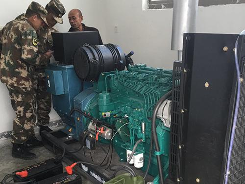 軍用發電組