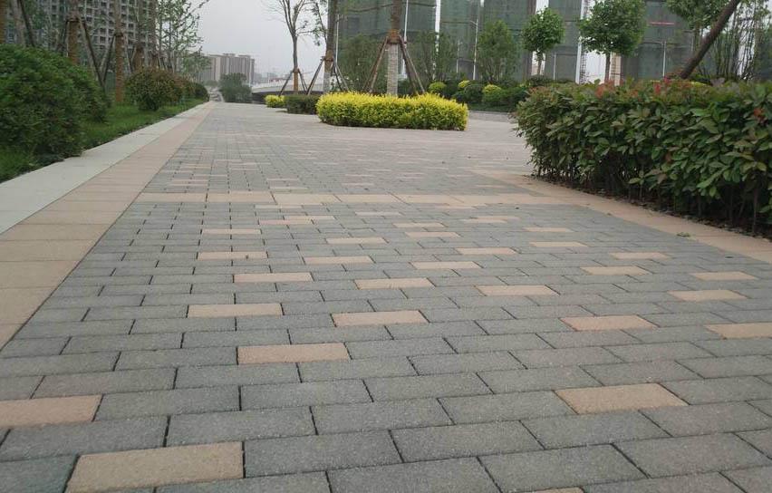 路面砖合作案例