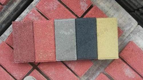 南充透水砖的技术特点