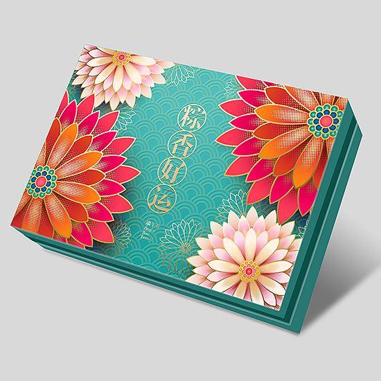 成都粽子盒包装设计