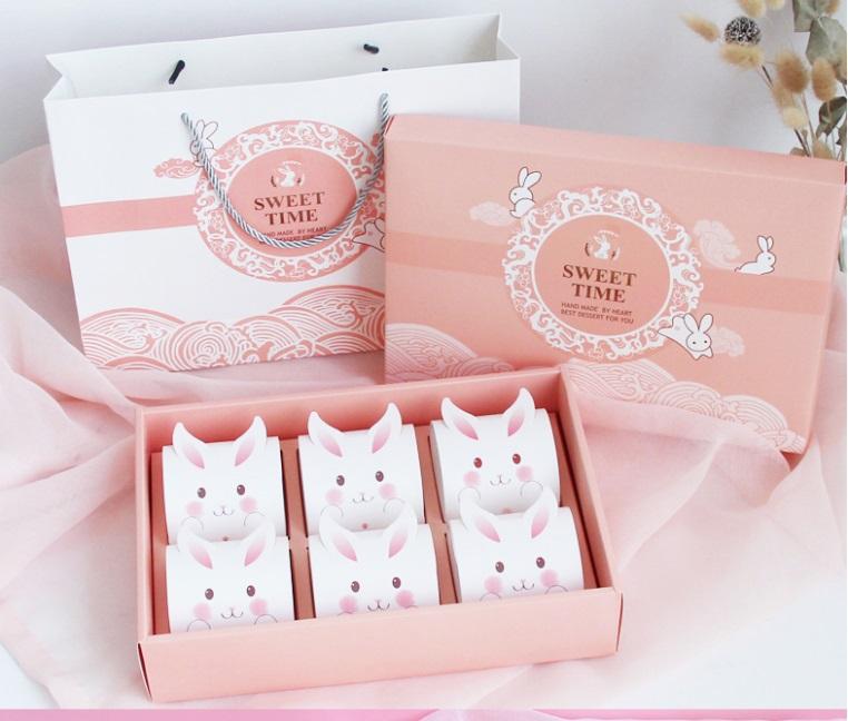 乖巧月饼盒印刷