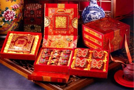 喜庆月饼包装盒