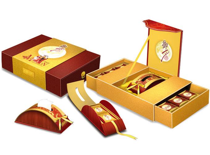 成都月饼盒创意设计
