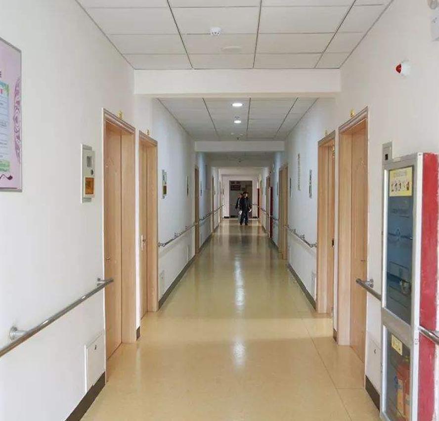 养老院走廊环境展示