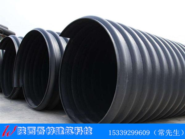 吾梓建筑HDPE钢带增强螺旋波纹管