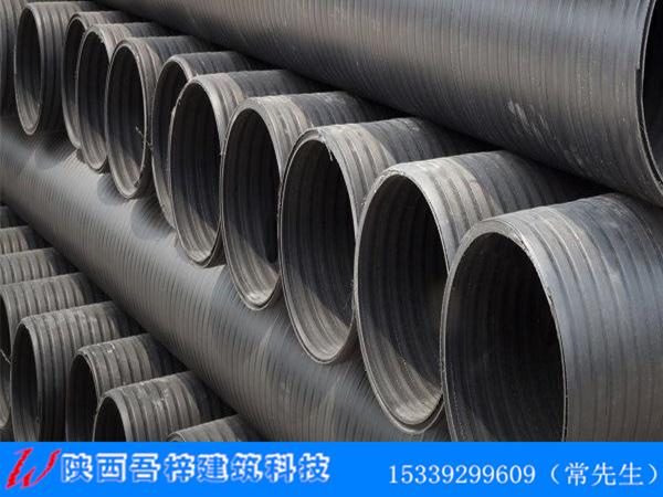 陕西HDPE中空壁缠绕管特点
